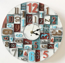 Workshop Thursday 9th May 2019 - Faux Printer Block Clock Workshop:  with Di Oliver